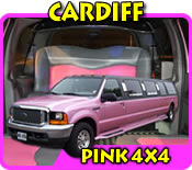 4x4 Limo In Cardiff