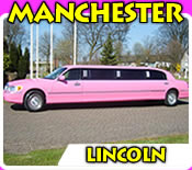 Pink Limos Manchester